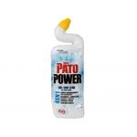 Limpiador de inodoro Pato formula 4 en uno gel con lejia 750 ml
