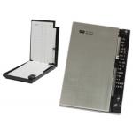 Listin telefónico metálico 868-s 9,5x6,5 cm