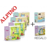 Lote Alpino manualidades 4+2 mini kids gratis