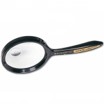 Lupa cristal bifocal 62 mm mango curvo