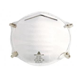 Mascarilla Deltaplus de higiene polipropileno elástico ajustable caja de 50 unidades