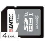 Memoria sdhc E mt ec flash 4 gb clase 10