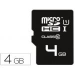 Memoria sdhc micro E mt ec flash 4 gb clase 10