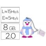 Memoria usb E mt ec flash 8 gb 2.0 animals pingüino