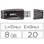 Memoria usb E mt ec flash c410 8 gb 2.0