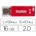 Memoria usb Imation flash classic 16 gb 3.0 color rojo
