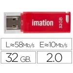 Memoria usb Imation flash classic 32 gb 3.0 color rojo