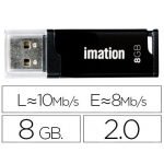 Memoria usb Imation flash classic 8 gb 2.0 color negro