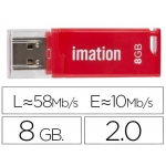 Memoria usb Imation flash classic 8 gb 3.0 color rojo