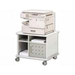 Mesa fotocopiadora Rocada color gris alta