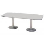 Mesa reunion meeting estructura aluminio tablero haya 220x100x72 cm