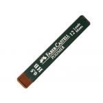 Minas Faber-Castell grafito polymer HB 0,5 mm estuche de 12 minas
