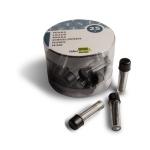 Liderpapel ML01 - Minas de grafito, para compas, 2 mm, estuche de unidades