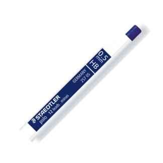 Staedtler polo 25705HB - Minas de grafito, 0,5 HB, tubo de 12 unidades