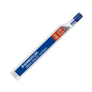 Staedtler mars micro 250 05-HB - Minas de grafito, 0,5 HB, tubo de 12 unidades