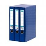 Modulo Elba 3 aarchivadores de palanca tamaño A4 2 anillas color azul lomo de 50 mm