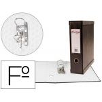 Modulo Pardo 1 archivador de palanca tamaño folio 2 anillas de 70 mm color negro