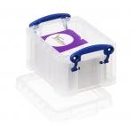Organizador archivo plástico transparente con litros 65x85x120 mm