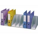 Organizador de armario fast- Paperflow color gris baldas fijas 802 mm 9 compartimentos