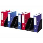 Organizador de armario fast- Paperflow color negro baldas fijas 802 mm 10 compartimentos