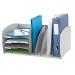 Organizador de armario Fast-PaperFlow color gris poliestireno 245x543x340 mm