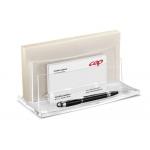 Organizador sobremesa Cep con compartimentos en plástico 225x105x110 mm