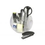 Organizador sobremesa i-mac transparente con accesorios