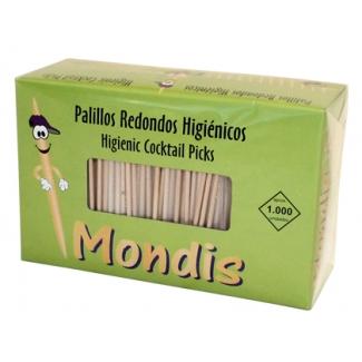 Palillos de dientes enfundados en celofan paquete de