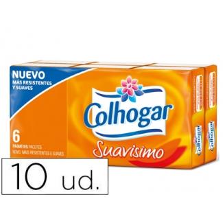 Pañuelo de papel Colhogar paquete con 10 pañuelos