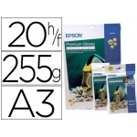 Papel Epson premium glossy pho to paper tamaño A3 (20hojas) 255gr 255 gr