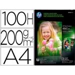 Papel Hp photo semi-glossy 200 gr/m2 tamaño A4 100 hojas