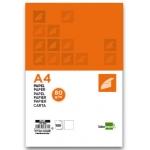 Papel Liderpapel tamaño A4 80 gr/m2 paquete de 100 color blanco