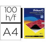 Papel carbon Pelikan color negro tamaño A4 caja de 100 unidades