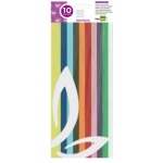 Liderpapel CL20 - Papel celofán, bolsa de 10hojas, 50 x 70 cm, colores surtidos