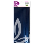 Papel celofan Liderpapel 50x70 cm 22g/m2 bolsa de 5 hojas azul