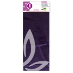 Papel celofan Liderpapel 50x70 cm 22g/m2 bolsa de 5 hojas violeta