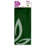 Papel celofan Liderpapel 50x70 cm 30g/m2 bolsa de 5 hojas verde