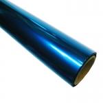 Papel celofan rollo trepado color azul 25 hojas de 50x65 cm