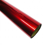 Sadipal 12501 - Papel celofán, rollo de 25 hojas trepadas, 50 x 65 cm, color rojo