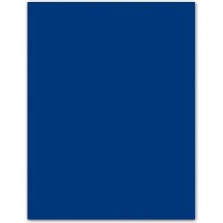 Papel color Liderpapel tamaño A4 165g / m2 azul oscuro paquete de 9