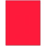 Papel color Liderpapel tamaño A4 165g / m2 rojo paquete de 9