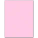 Papel color Liderpapel tamaño A4 165g / m2 rosa pastel paquete de 9