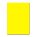 Papel color Liderpapel tamaño A4 80 gr/m2 amarillo paquete de 100