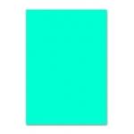 Papel color Liderpapel tamaño A4 80 gr/m2 azul turquesa paquete de 100