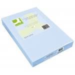 Papel color Q-Connect tamaño A3 80gr celeste paquete de 500 hojas