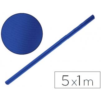 Papel color kraft Liderpapel azul azurita rollo 5x1 mt
