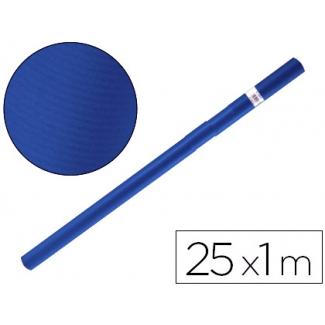 Papel color kraft Liderpapel azul azurita turquesa rollo 25x1 mt