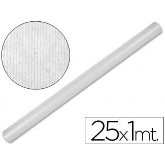 Papel color kraft Liderpapel blanco rollo 25x1 mt