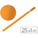 Papel color kraft Liderpapel marron havana rollo 25x1 mt