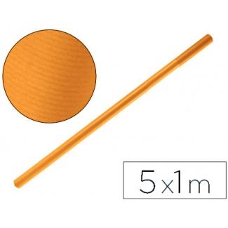 Papel color kraft Liderpapel marron havana rollo 5x1 mt